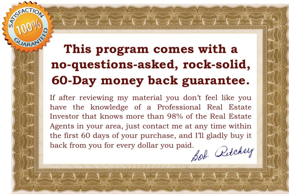 Real-Esate-Cash-Flow-Strategies-60-Day-Guarantee